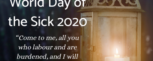World Day of the Sick Message