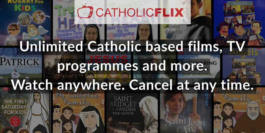 CatholicFlix Children's Online Videos Available