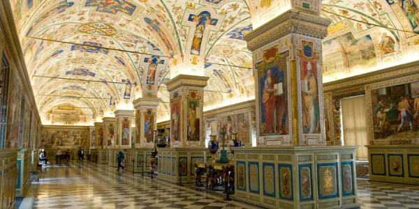 Historic manuscripts get a modern treatment with new Vatican library website